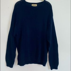 Vintage Eddie Bauer pullover sweater Mens Medium